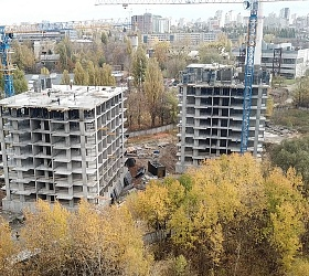 "Incredible rate of construction: 11 floors have been built at RC ""Akadem-Kvartal"" already!"
